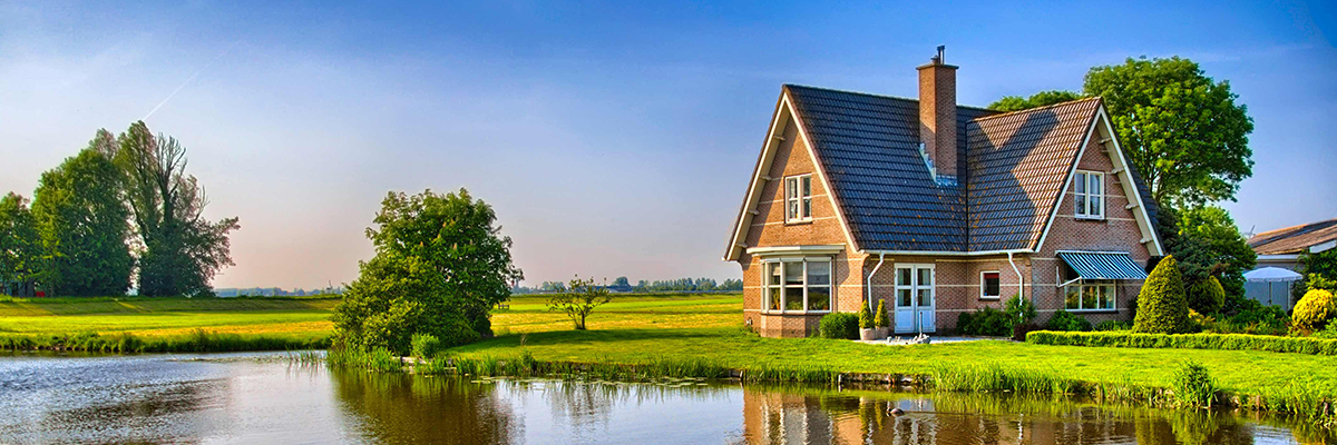 Home in rural area with USDA Home Loan