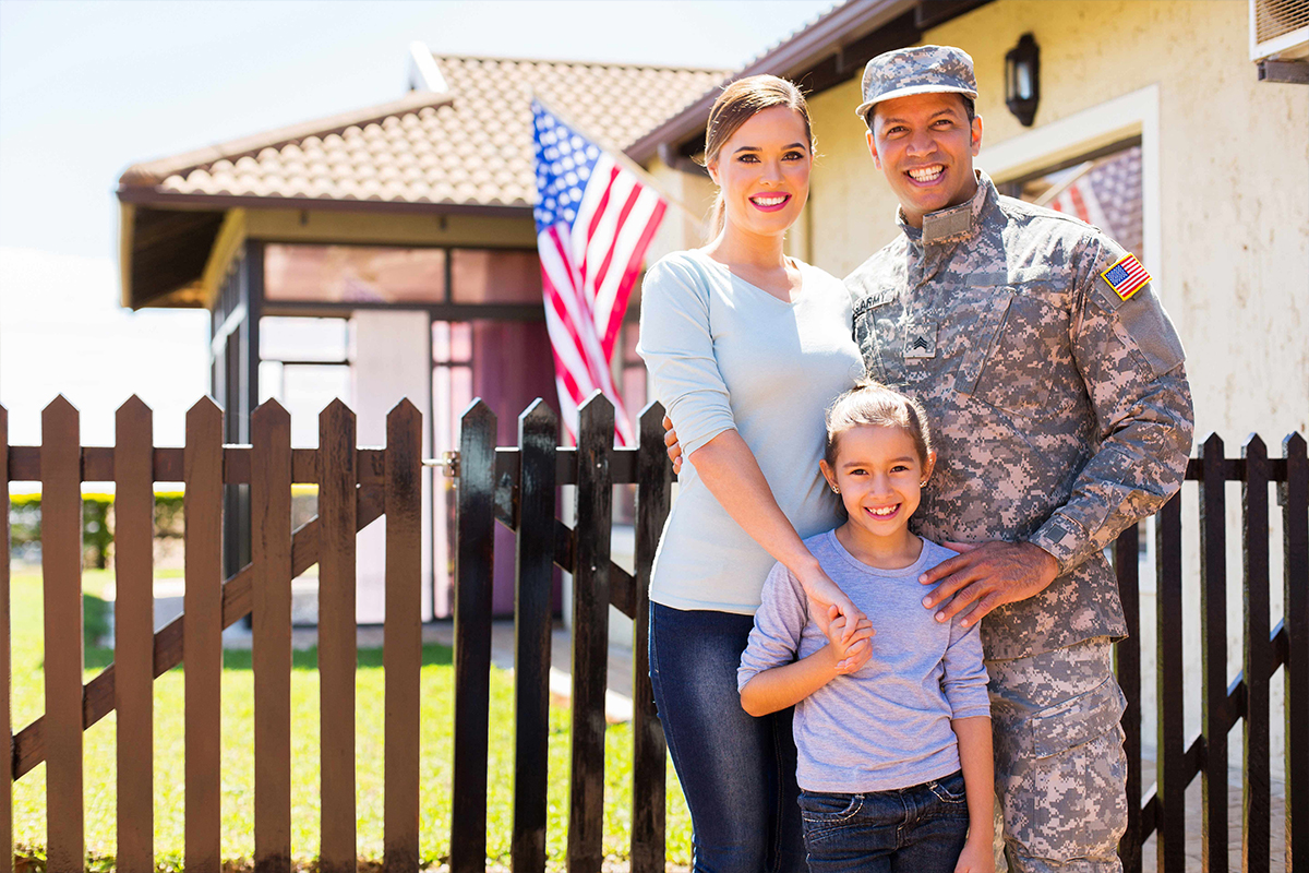 Texas Veteran buys home with Veteran Affairs home loan