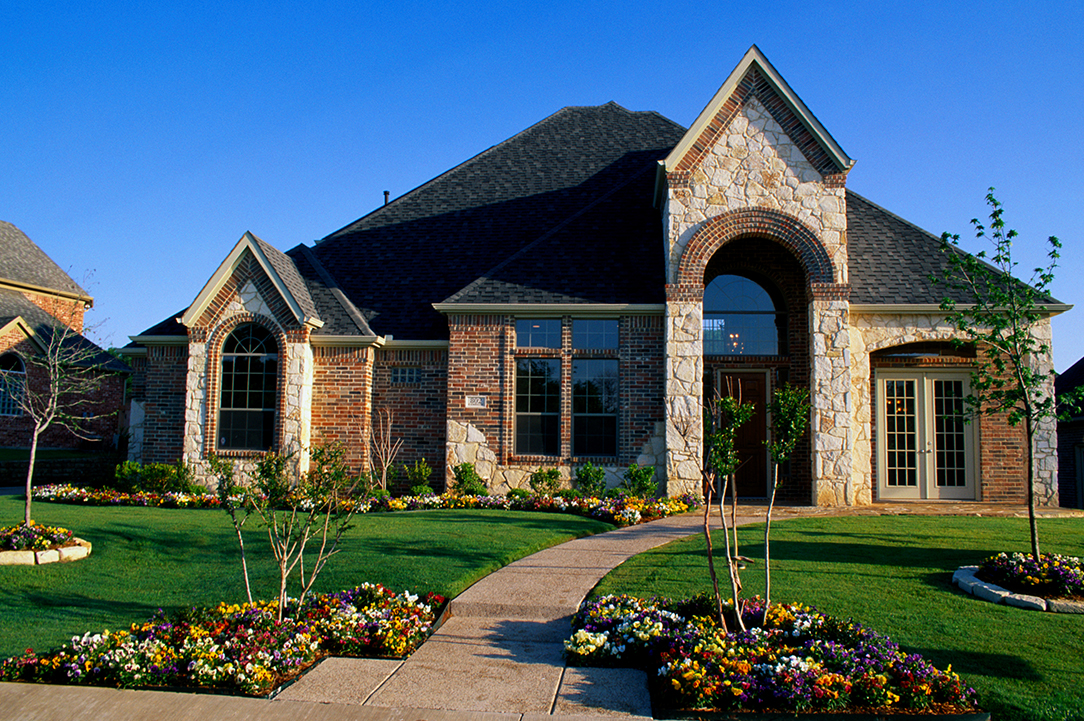 large Texas home with jumbo home loan