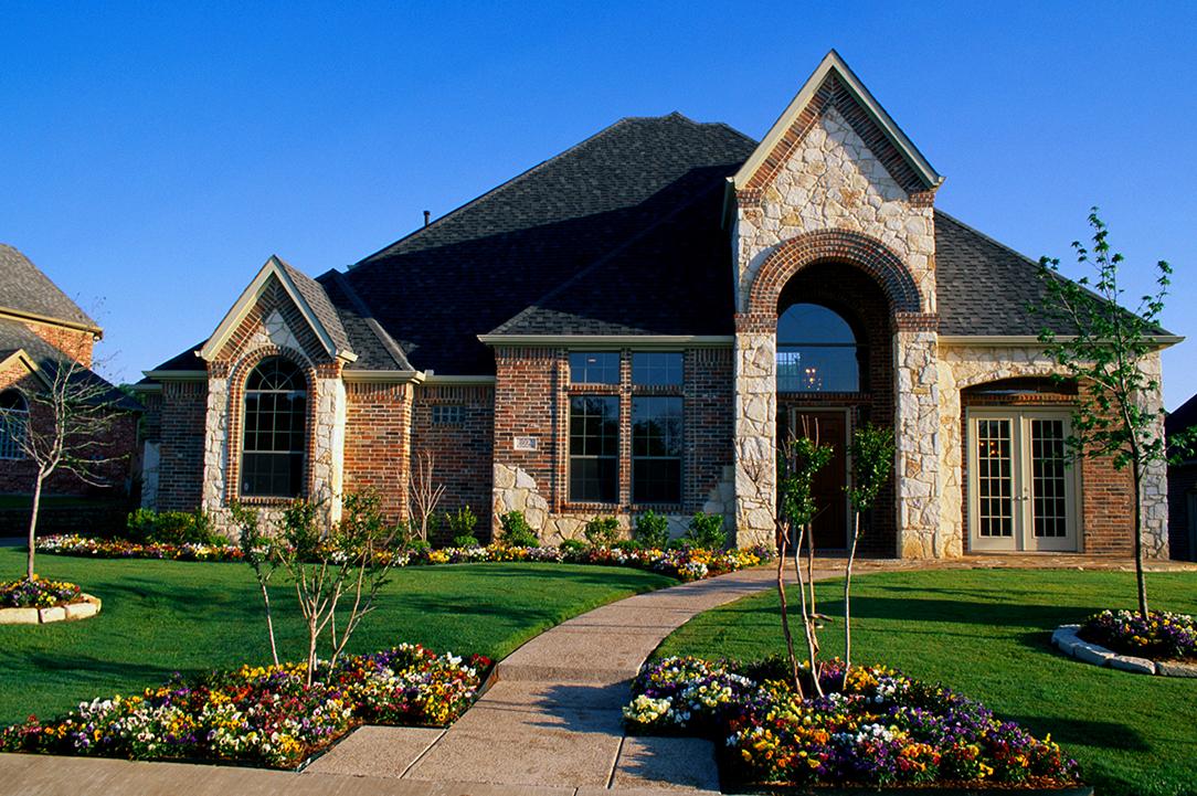 large Texas home with jumbo home loan